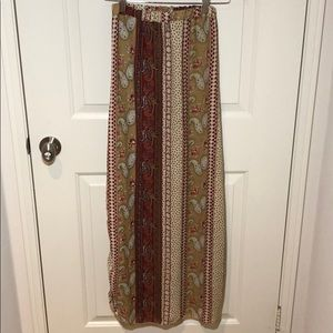 See You Monday Maxi Skirt with 2 Side Slits